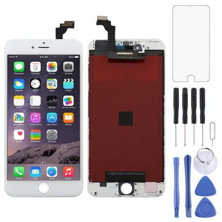 Original LCD Screen and Digitizer Full Assembly for iPhone 6 Plus(White)